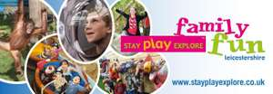 Family of 4, overnight stay with breakfast & choice of 3 attractions £149 @ StayPlayExplore