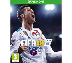 Fifa 18 for Xbox One - Only £31.99 @ Currys