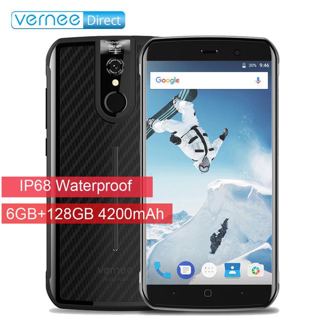 "Vernee Active - 6GB RAM 128GB ROM NFC IP68 5.5"" 1080p 4200mAh Rugged Phone - with B20! - £197.33 @ Gearbest"