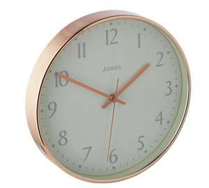 Jones penny copper case clock reduced to £11.99 @ argos