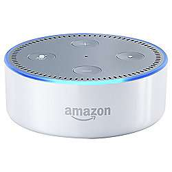 Amazon Echo Dot (white) Back in Stock at Tesco for £34 Using Code