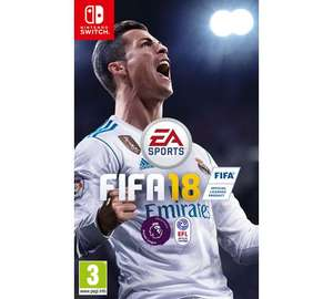 FIFA 18 Nintendo Switch £21.99 @ Argos