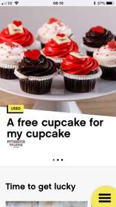 Free Cupcake Today Only At Patisserie Valerie @ Three Wuntu
