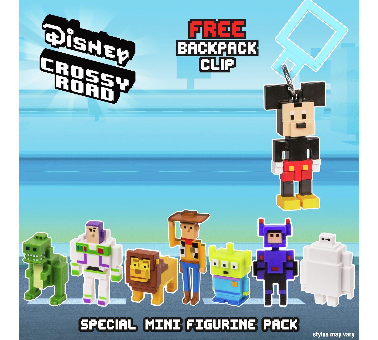 Disney Crossy Road Mini Figures - 7 Pack - £4.99 @ Argos - Free C&C