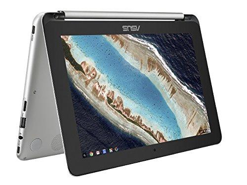 ASUS C101PA-FS002 10.1-inch Touchscreen Chromebook Flip (Silver) - (OP1 Processor, 4GB RAM, 16GB eMMC, 10.1 360-Degree Rotatable Touchscreen, Chrome OS) £249.99 @ Amazon