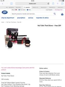Free Gift Worth £26 When You Buy 2 No7 Makeup Products at Boots Online and Instore