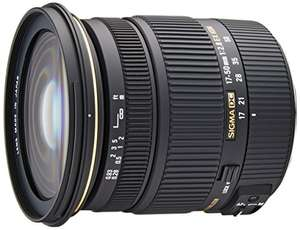 Sigma - 17-50 mm f/2,8 EX DC OS HSM  - £237.16 - Amazon Spain