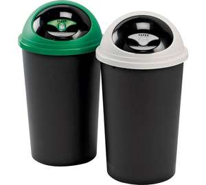 Tontarelli 25 Litre Recycle Bin Twin Set - £14.99 @ Argos
