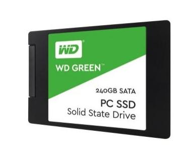 WD Green 240GB SSD (540MB/s Read) £61.97 @ Ebuyer