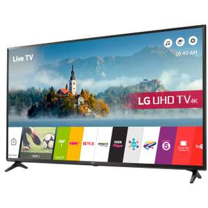 """LG 65UJ630V 65"""" Freeview HD and Freesat HD and Freeview Play Smart 4K Ultra HD with HDR TV £749 @ Costco Instore & Online"""