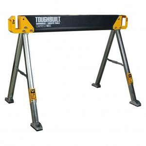TOUGHBUILT STEEL FOLDING SAWHORSE C550 £27.95 ex. VAT / £33.54 with at Selco BW