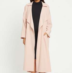 Maternity Coat - Formal Frill Duster £11.75 @ Very - Free c&c