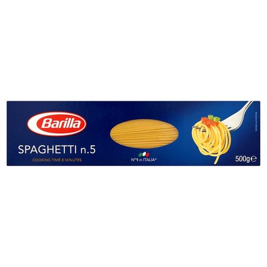 Barilla no.5 SPAGHETTI 500g - 59p @ B&M [also 75p in Tesco.]