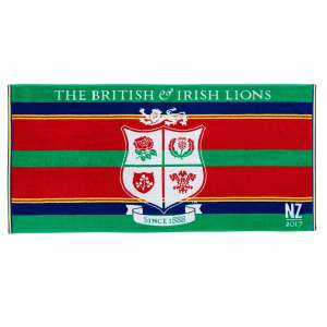 British and Irish Lions Tour Bath Towel WAS £20 now £11 Delivered with code @ Christy