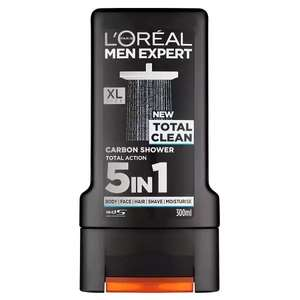 L'Oreal Men Expert Total Clean Shower Gel 300ml £2 at Morrisons