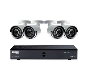 Lorex 1080p 8 Channel 1TB DVR and 4 Camera  CCTV System £239 @ Maplin