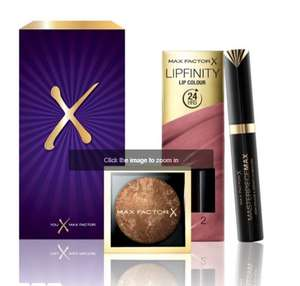 Free gift when you spend £15 on selected Max Factor at Boots
