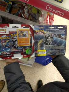 Pokémon Booster pack £1.55 instore at Tesco's Cosham