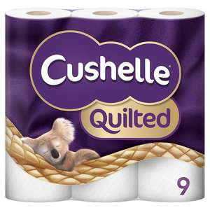 Cushelle Quilted 5x9pack - 45 rolls for £11.26 @ Costco instore