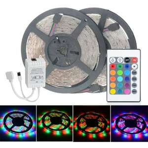 2pcs HML 5m 24W 300 SMD 2835 RGB LED Strip Light £8.07 Delivered @ Gearbest