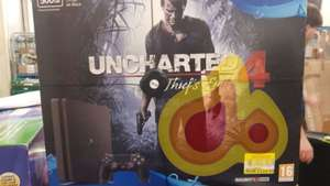 PS4 500GB uncharted 4 bundle £114.50 at Tesco Gloucester Brockworth
