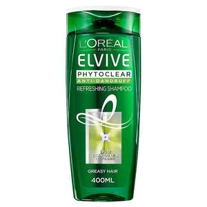 L'Oreal Elvive Phytoclear Greasy Hair Pure Fresh Shampoo 400ml - £2.50 at Morrisons