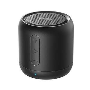 Anker SoundCore mini, Super Portable Speaker with 15-Hour Playtime, Black - £12.91/ Pink/Gold/Silver £13.66 (Prime) / +£3.99 (non Prime) Sold by AnkerDirect and Fulfilled by Amazon - lightning deal