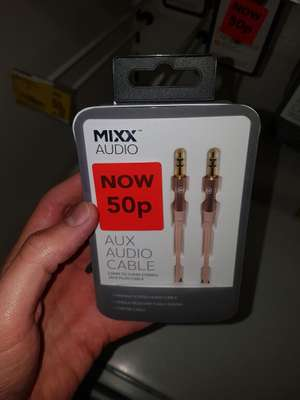 Aux cable 50p @ Asda - smith down road Liverpool