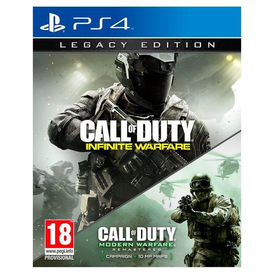 Ps4 infinate warfare special edition. Includes modern warfare remastered. - £10 @ Tesco