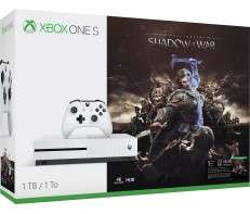 Xbox One S 1TB – Shadow of War 2 players Bundle + 2 games - Only £259.99 @ Micrsoft store