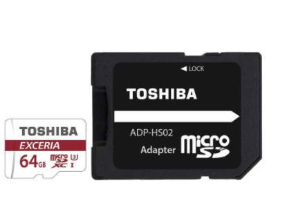 Toshiba Exceria 64GB Micro SDXC U3 Card £16.79 7dayshop