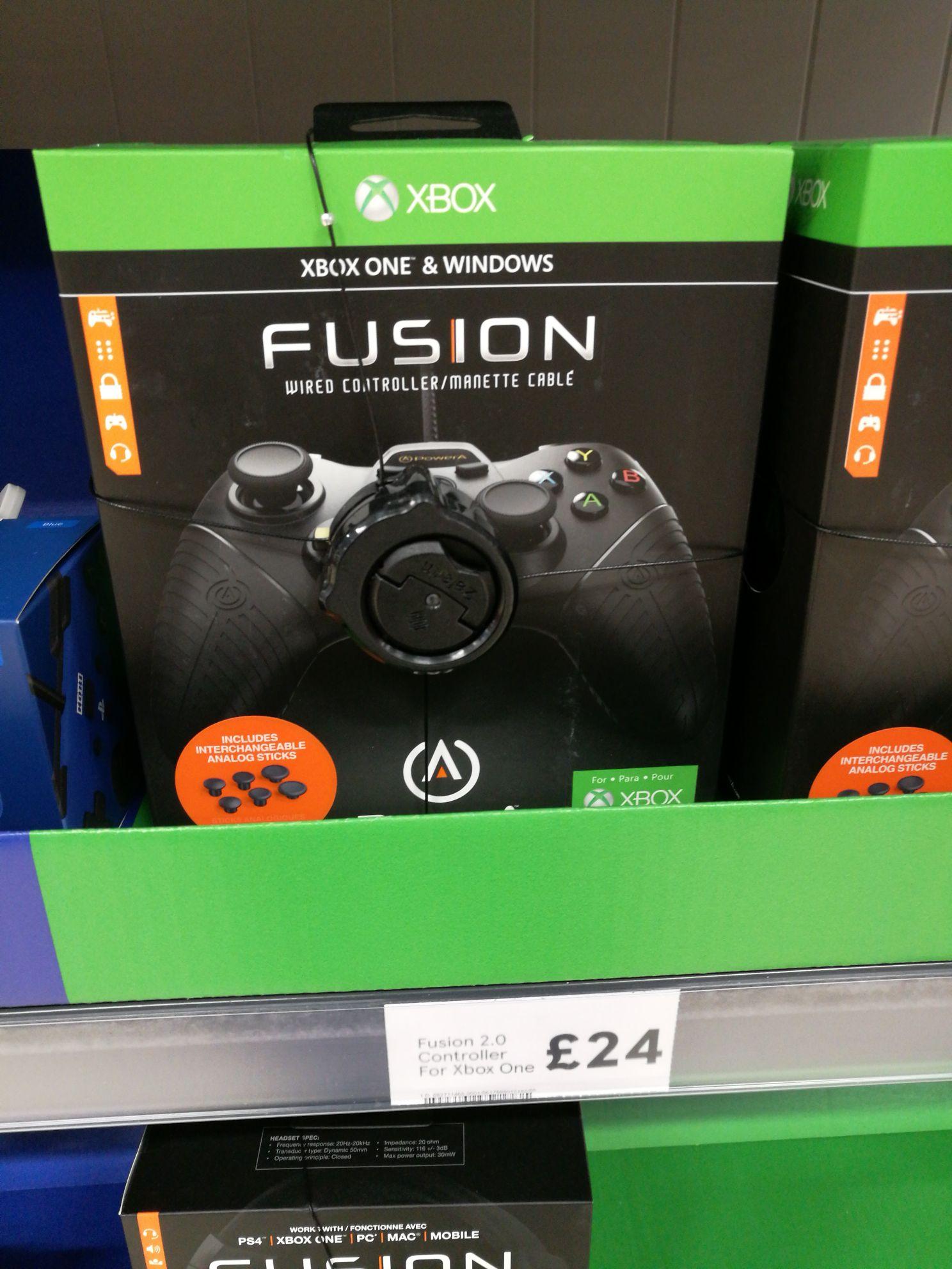 Fusion 2.0 controller fox Xbox One £24 @ Tesco - Llamsamlet