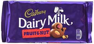 Cadbury Dairy Milk Fruit and Nut Bar, 200g (Pack of 6) @ Amazon - £9 (Prime Exclusive)