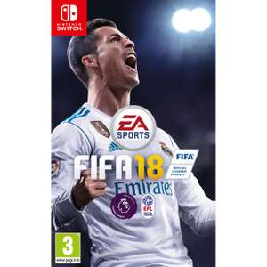 [Nintendo Switch] FIFA 18 - £22 (with Next Day Delivery) - AO