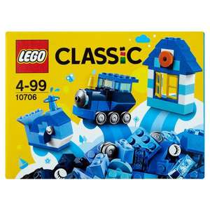 Lego 10706 & 10707 Classic Blue and red Creativity Boxes . Morrison's online half price! - £2.50