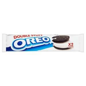 Oreos double biscuits now 10p per pack @ B&M instore