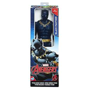 ON again at this price. Avengers 12-Inch Marvel Titan Hero Series Black Panther Figure £6.50 (Prime) £10.49 (non Prime) @ Amazon