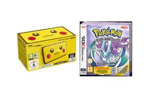 Nintendo 2DS XL Pikachu Edition with Pokemon Crystal - £149.98 @ GAME