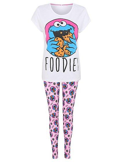 Sesame Street cookie monster ladies pyjamas 8-10 ,12-14, 16-18 now £7 was £15 @ asda george (Free C&C)