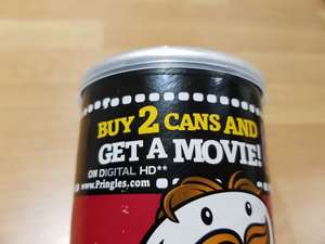 Free Google play download movie via Pringles (2 x tubes = £5 in more retailers)
