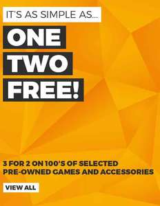 3 for 2 on loads of pre-owned games @ GAME