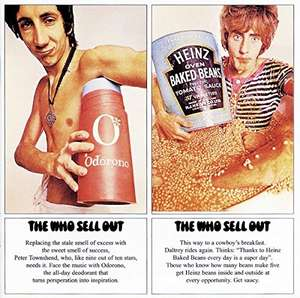 the who sell out vinyl lp [ amazon france ]  10 euros , non prime £13.07