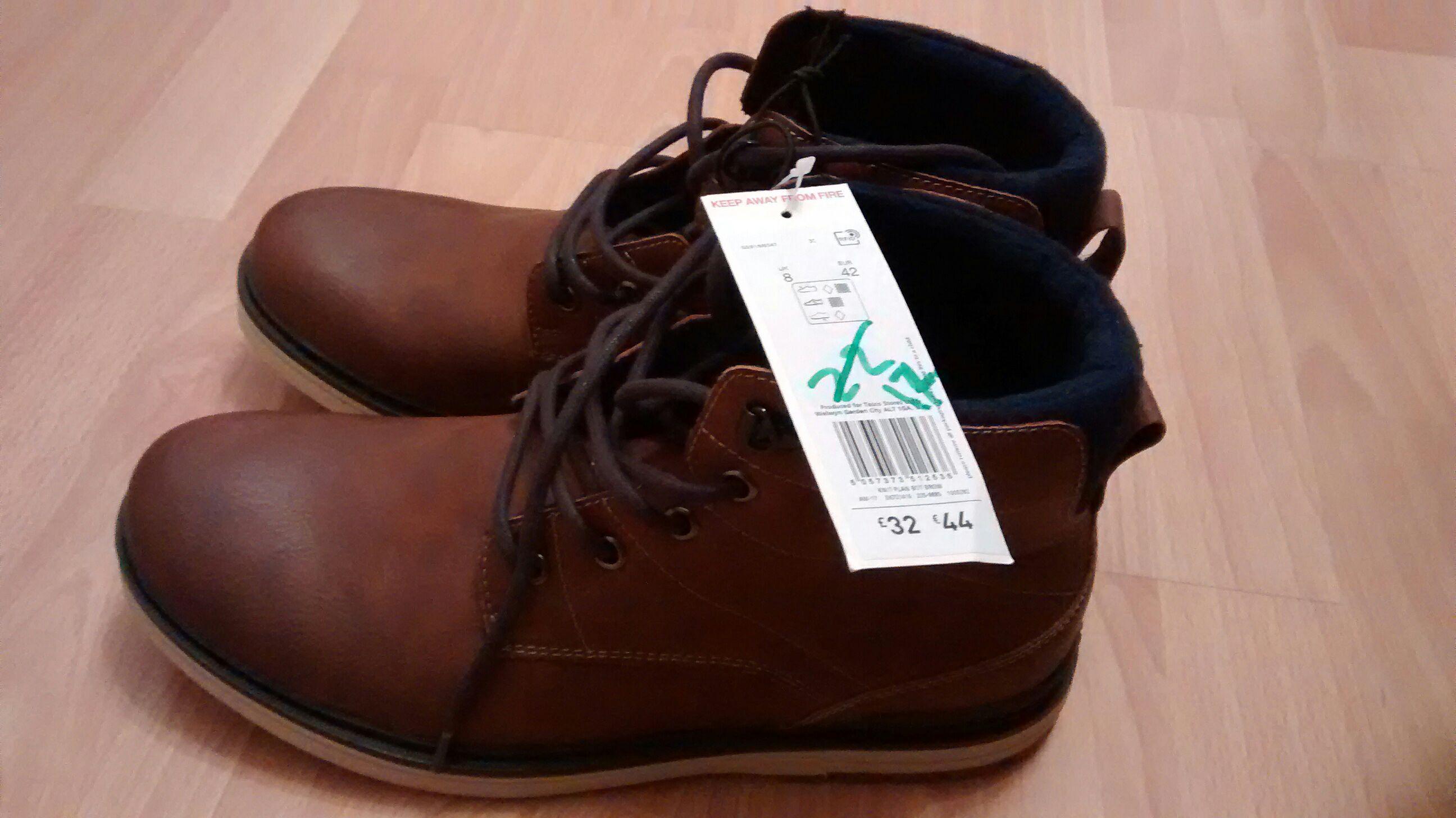 Men's boots - £12 instore @ Tesco (Coventry)