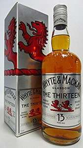 Whyte & Mackay 13 Year Old Blended Whisky - £15 @ Amazon (Prime Exclusive)