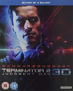 Amazon - Terminator 2: Judgment Day (3D & 2D) Blu-Ray Restored - Prime £12.49 / Non-Prime £14.48
