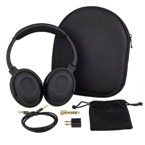7dayshop via Amazon - Headphones AERO 7 Active Noise Cancelling Headphones with Aeroplane Kit and Travel Case - £22.99