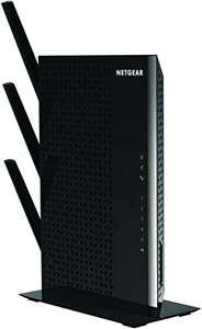 NETGEAR Nighthawk 11AC 1900 Mbps Dual Band 2.4 and 5 GHz 1900 Mbps Wi-Fi Range Extender with 5 Gigabit Ports and 3 External Antennas (Wi-Fi Booster) - was £117.99 now £77.99@ Amazon