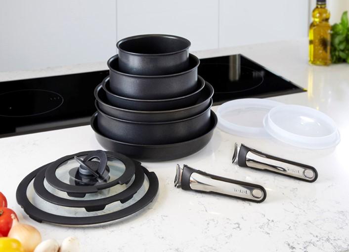 Tefal Ingenio Enamel 13 piece Cookware Set - £125 (plus £5 P&P) @ Studio