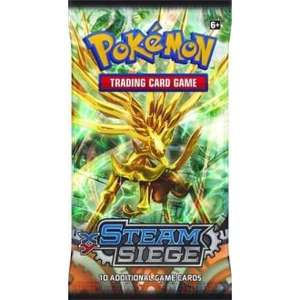 Pokemon Cards £1 a pack Steam Siege & Evolutions @ Chaos Cards