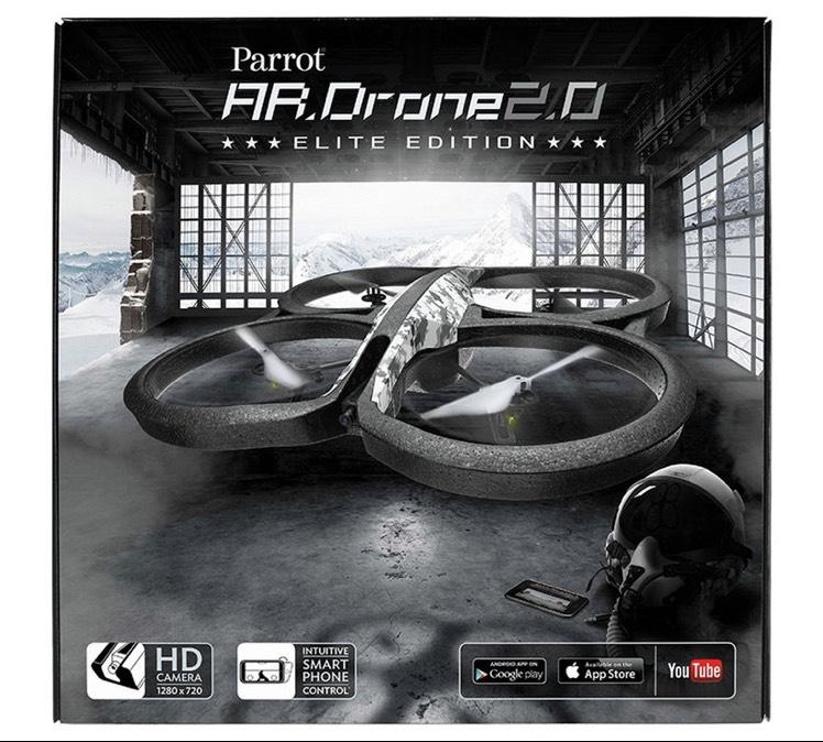 Parrot AR.Drone 2.0 Elite Edition Drone. WAS £129.99 - £64.99 @ Argos